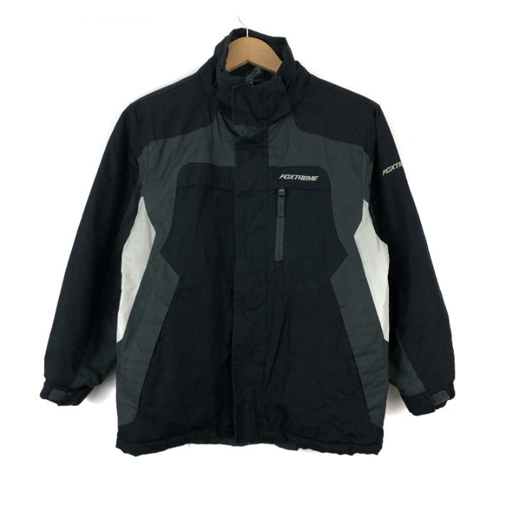 Fox Black Winter Jacket / Small