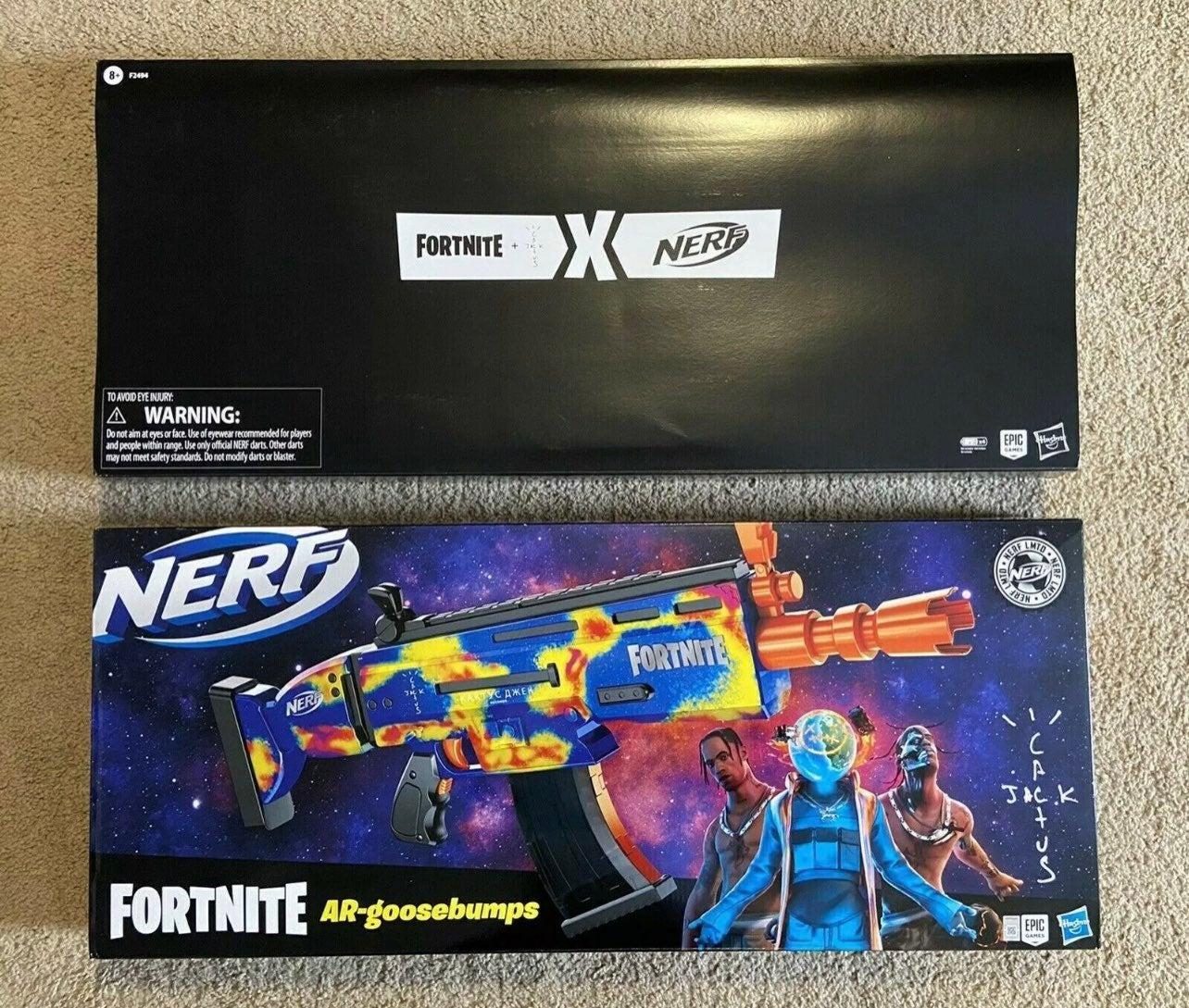 Travis Scott Fortnite Nerf Gun