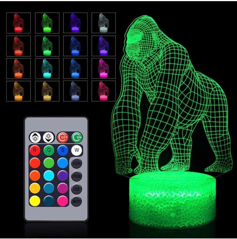 3D Gorilla Light