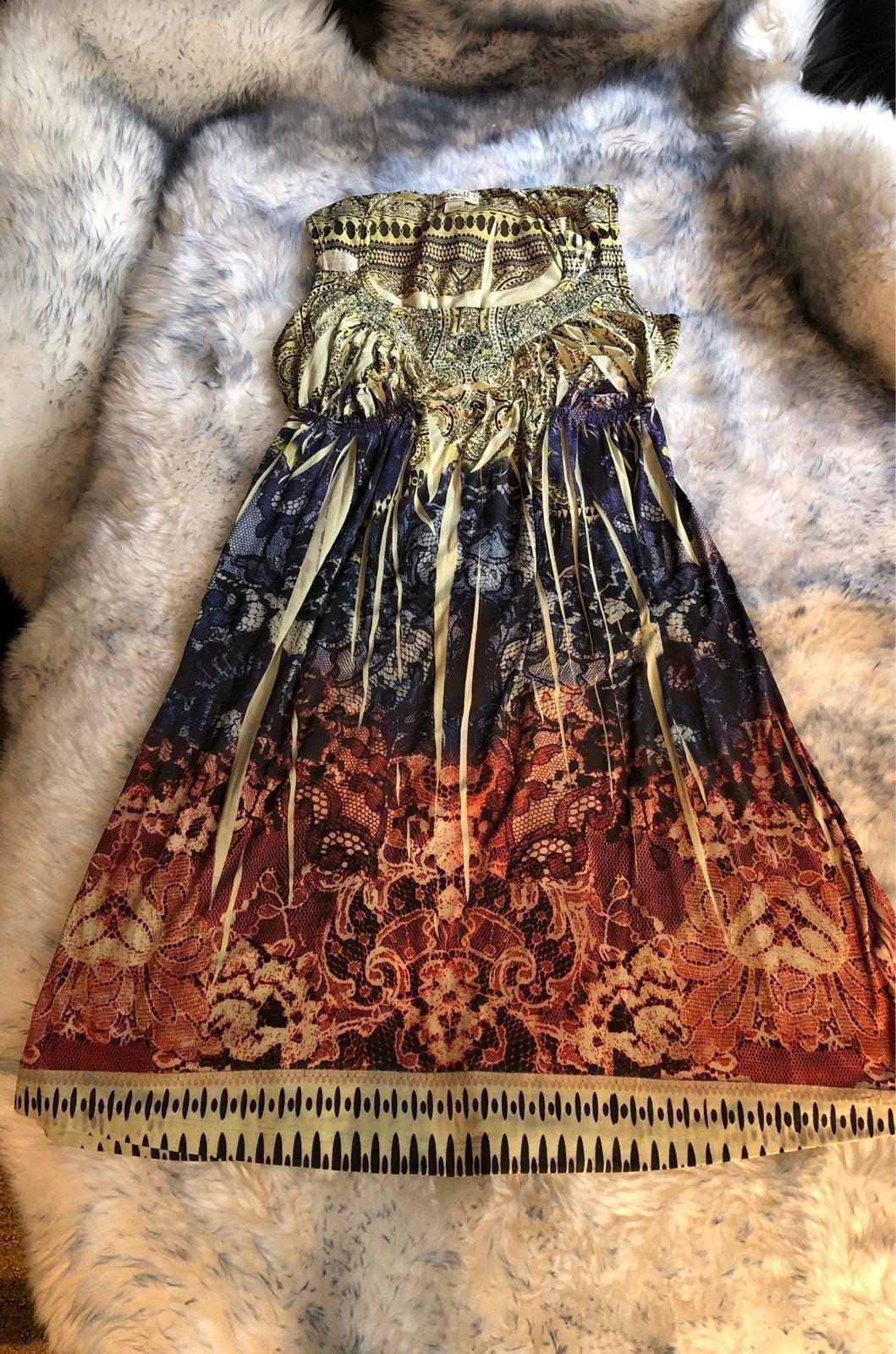 One world boho dress S