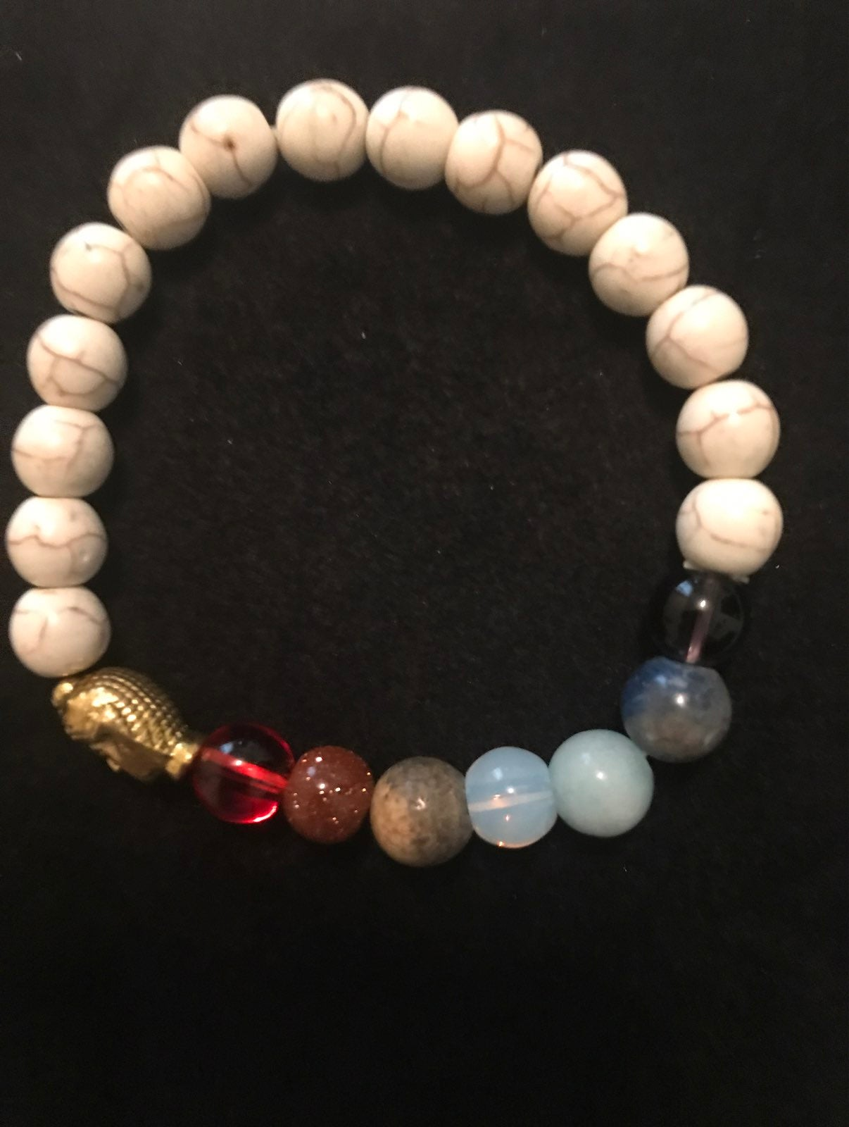 Handmade chakra bracelets With Buddha
