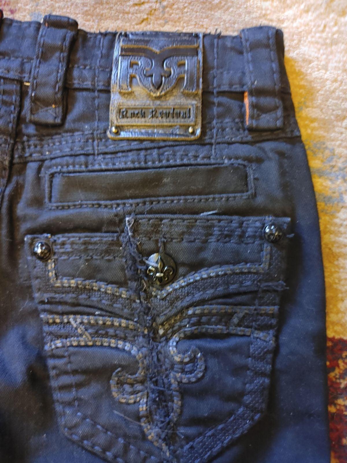NWOT Men's Rock Revival Jeans Size 29x30