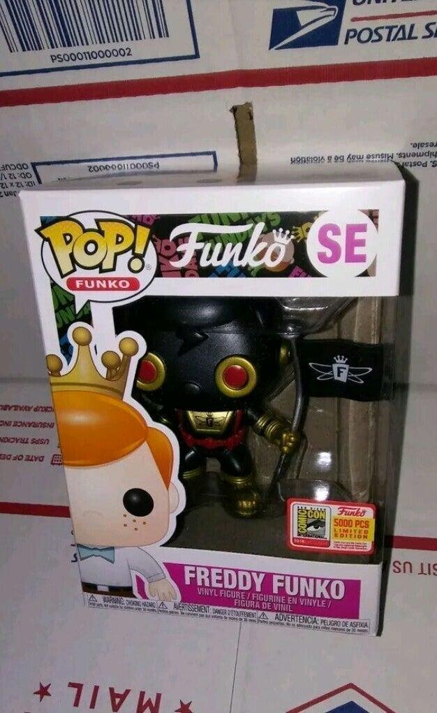 FUNKO POP FUNDAYS FREDDY FUNKO BLACK