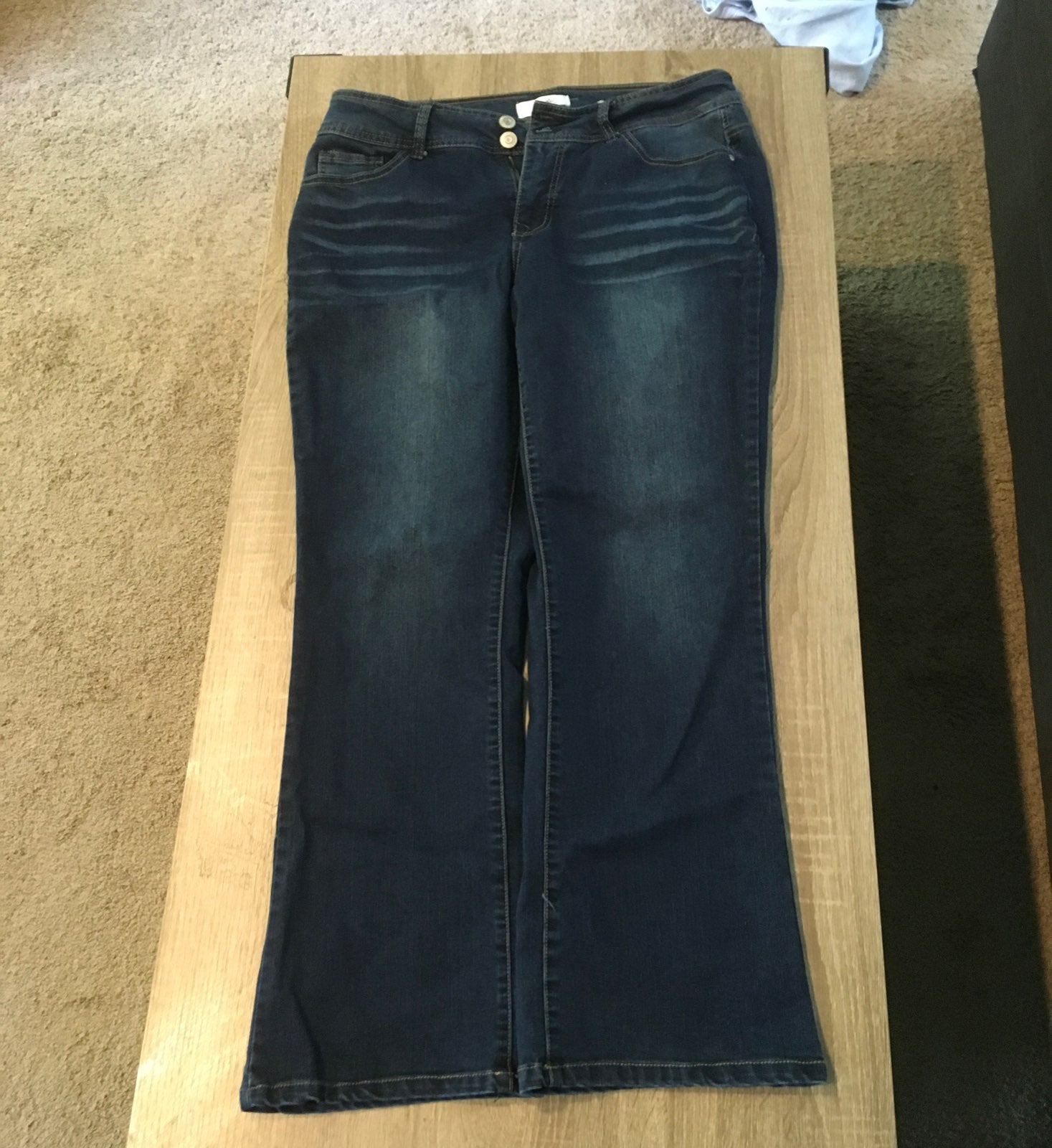 Angels Forever Young curvy bootcut jeans