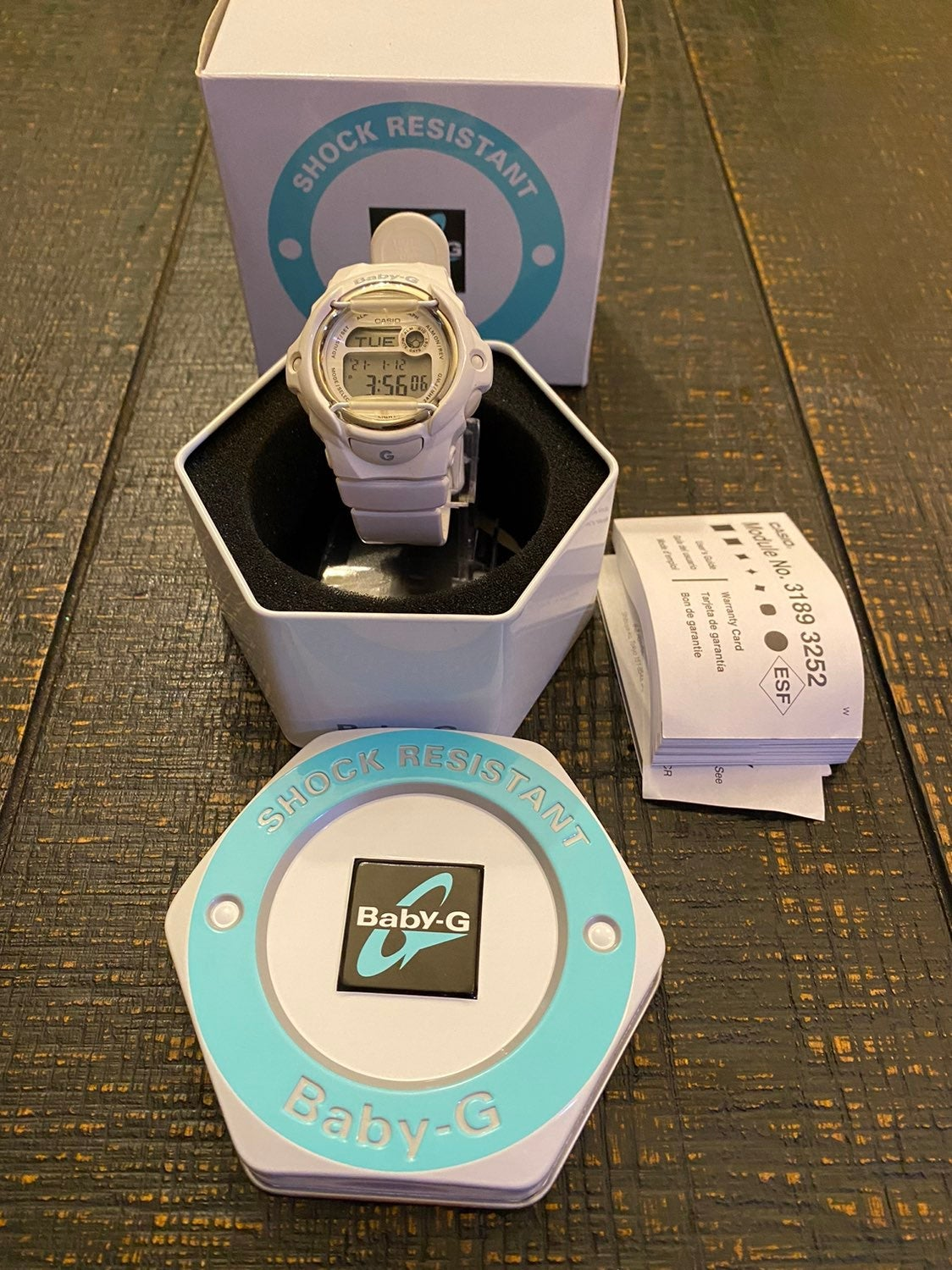 Baby-G White and Gold New!