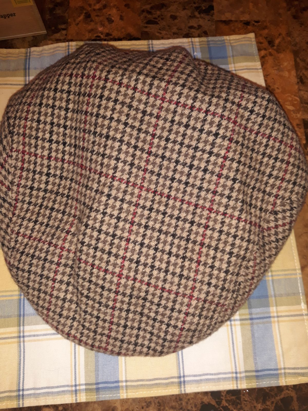 Brooks brothers 100% Cashmere Ivy Cap