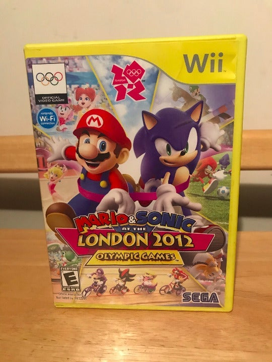 Mario & Sonic at the 2012 Olympics Wii