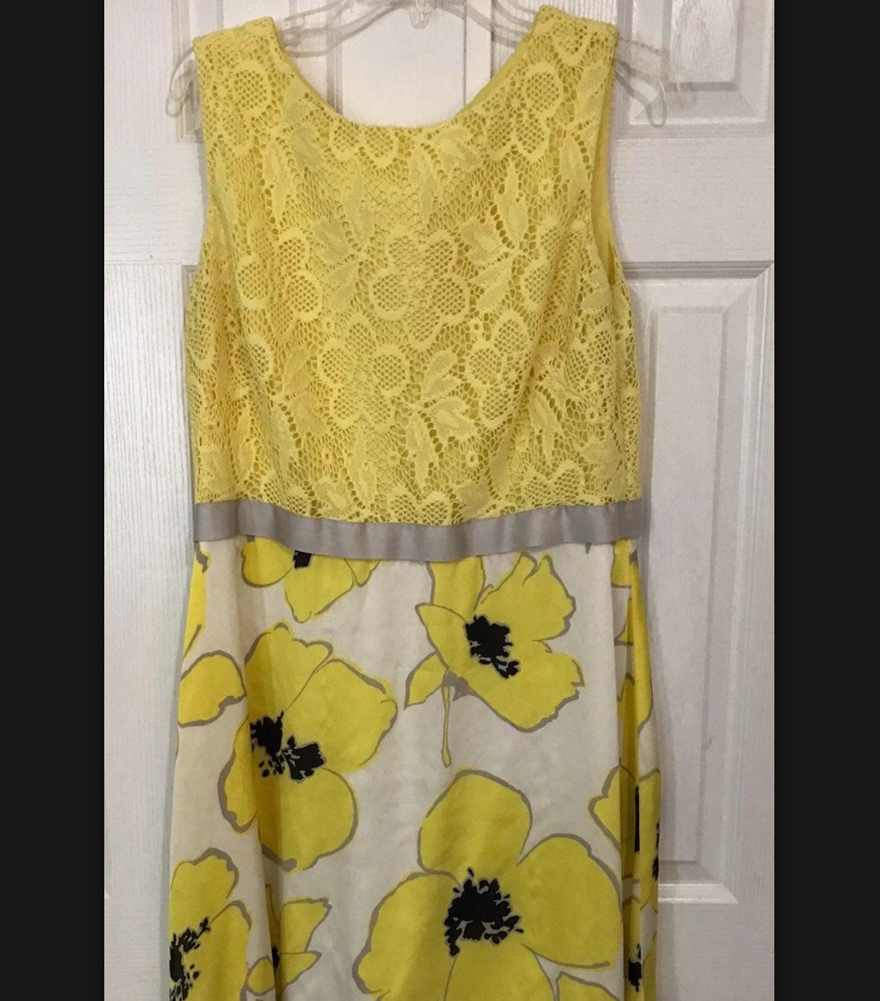 Sudio one Yellow Sleeveless Dress 18
