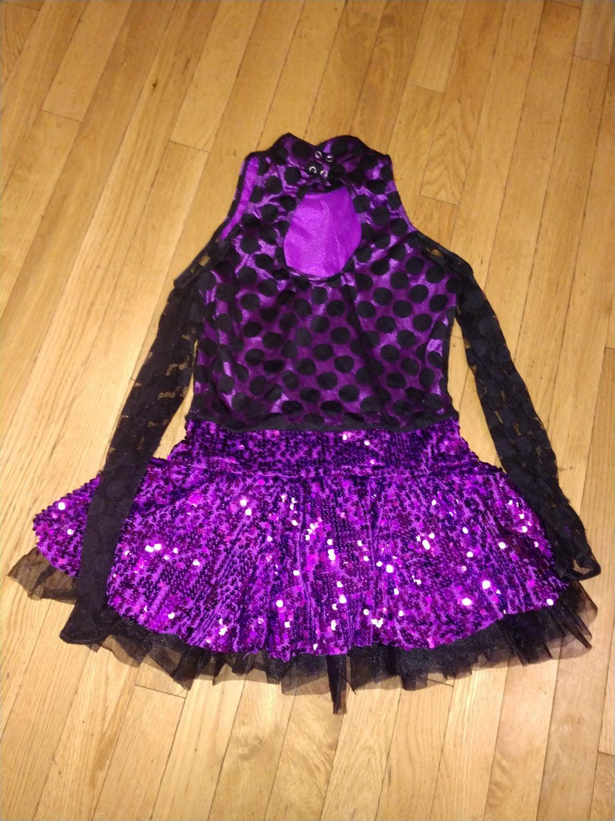 Weissman cold shoulder dance outfit (16/