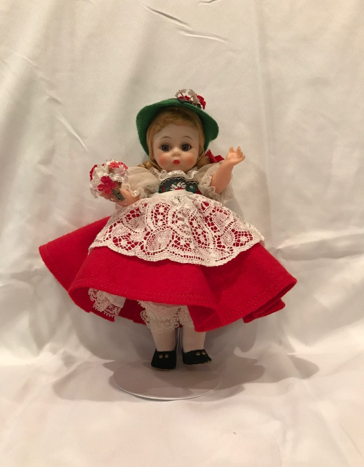 Vintage Swiss Madame Alexander doll