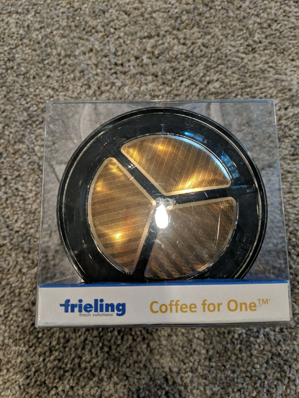 24k gold plated drip coffee filter