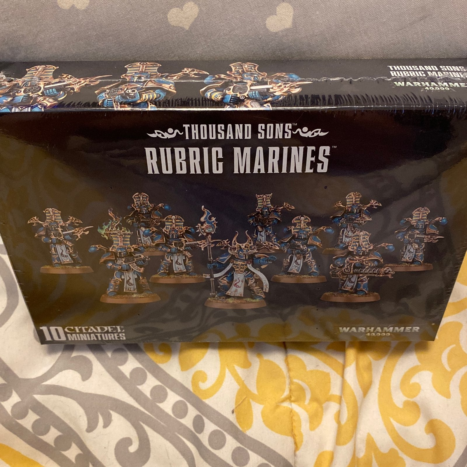 Thousand Sons Rubric Marines & Rhino