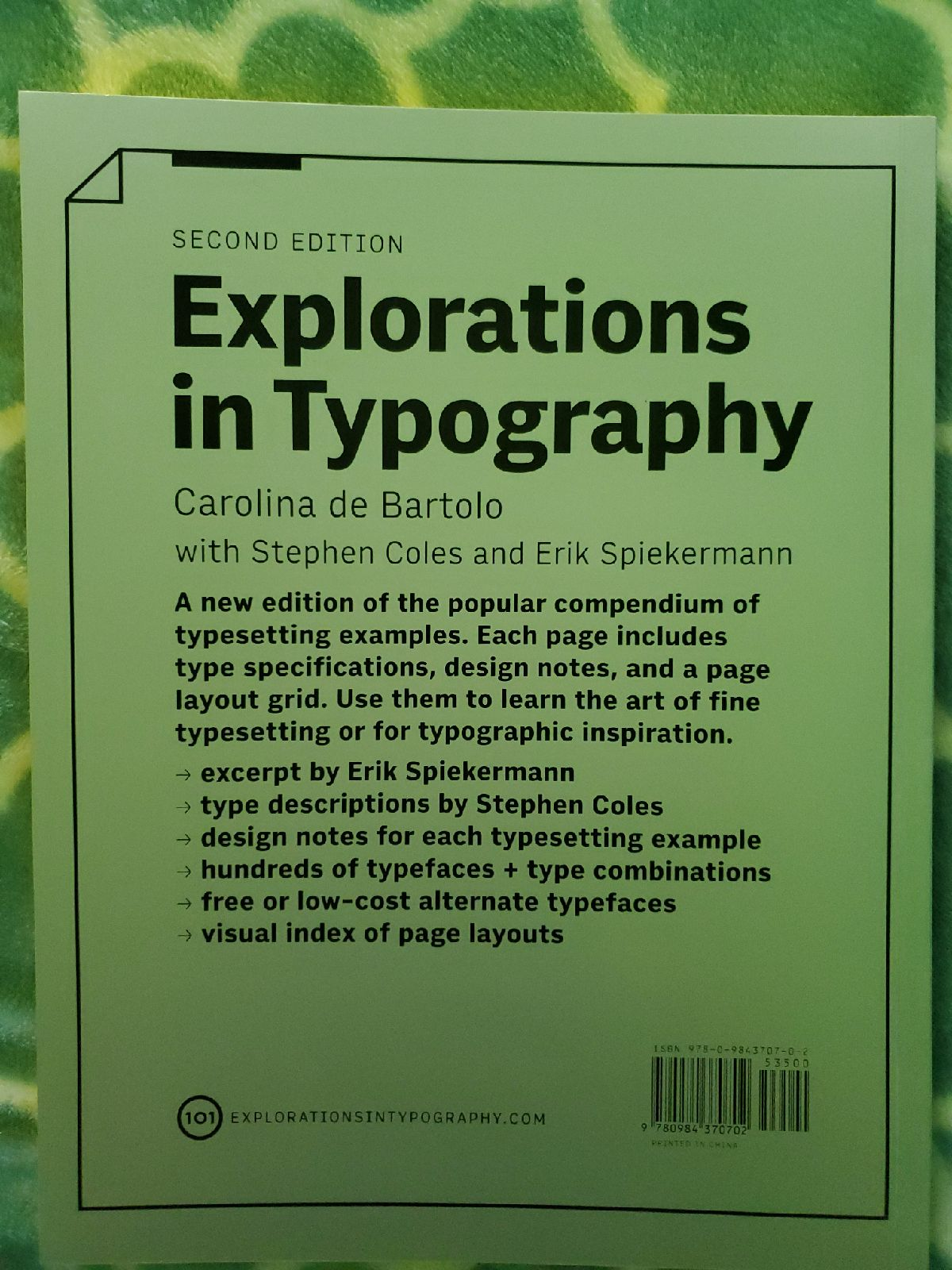 Explorations in Typography - 2nd Edition