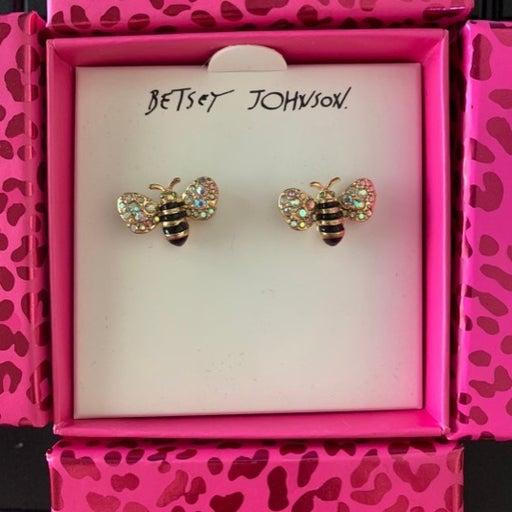 BETSEY JOHNSON Bumble Bee Earring