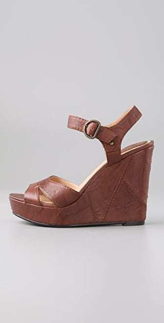 Frye Corrina Campus Wedge Sandal Size 6