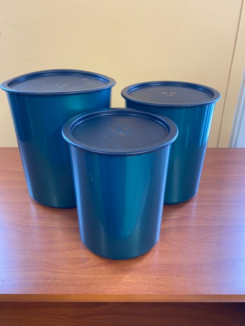 Tupperware Canister set One Touch 3 piec