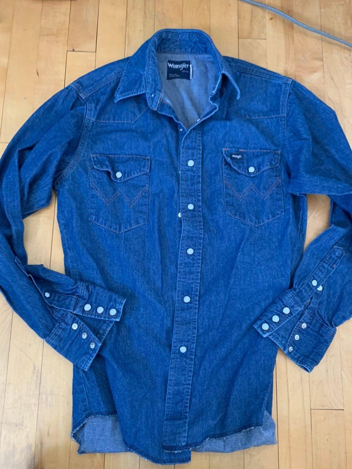 CLassic wrangler denim shirt