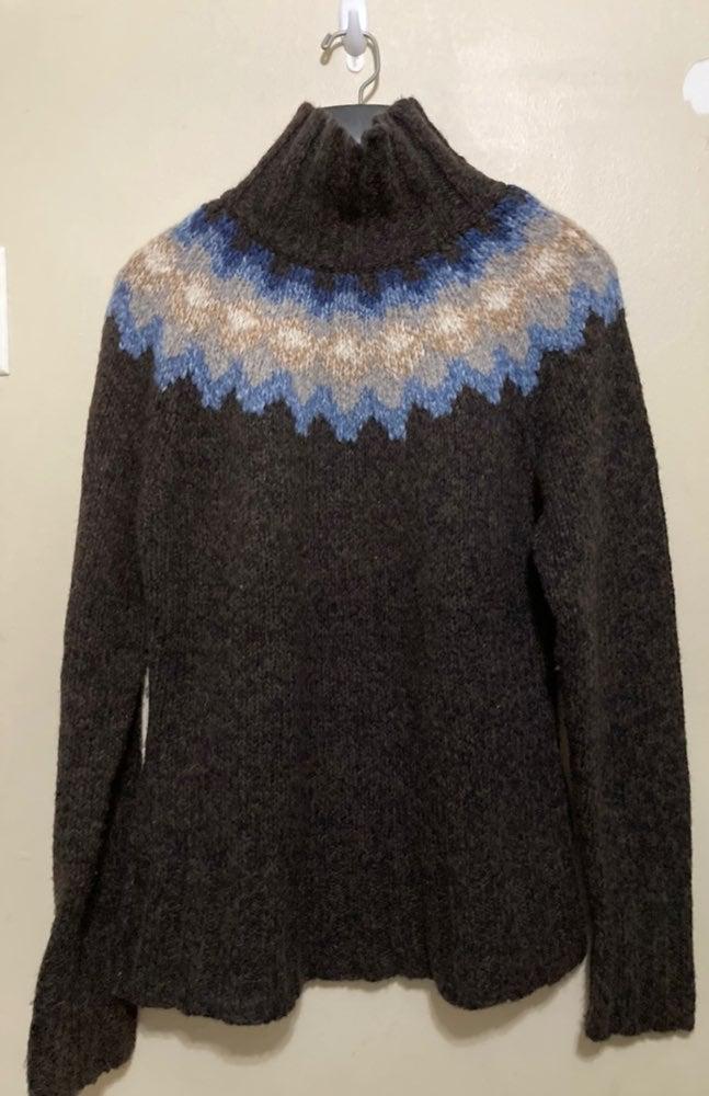 Garnet Hill Merino Wool Sweater M