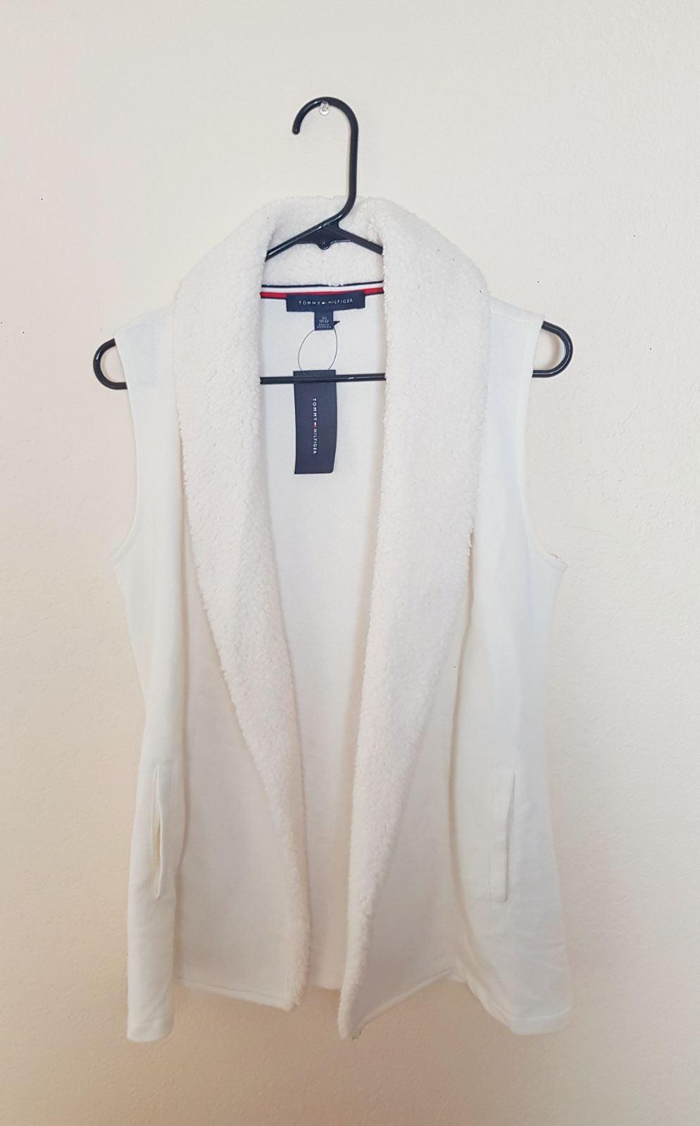 Tommy Hilfiger Womens Sherpa Vest s XS