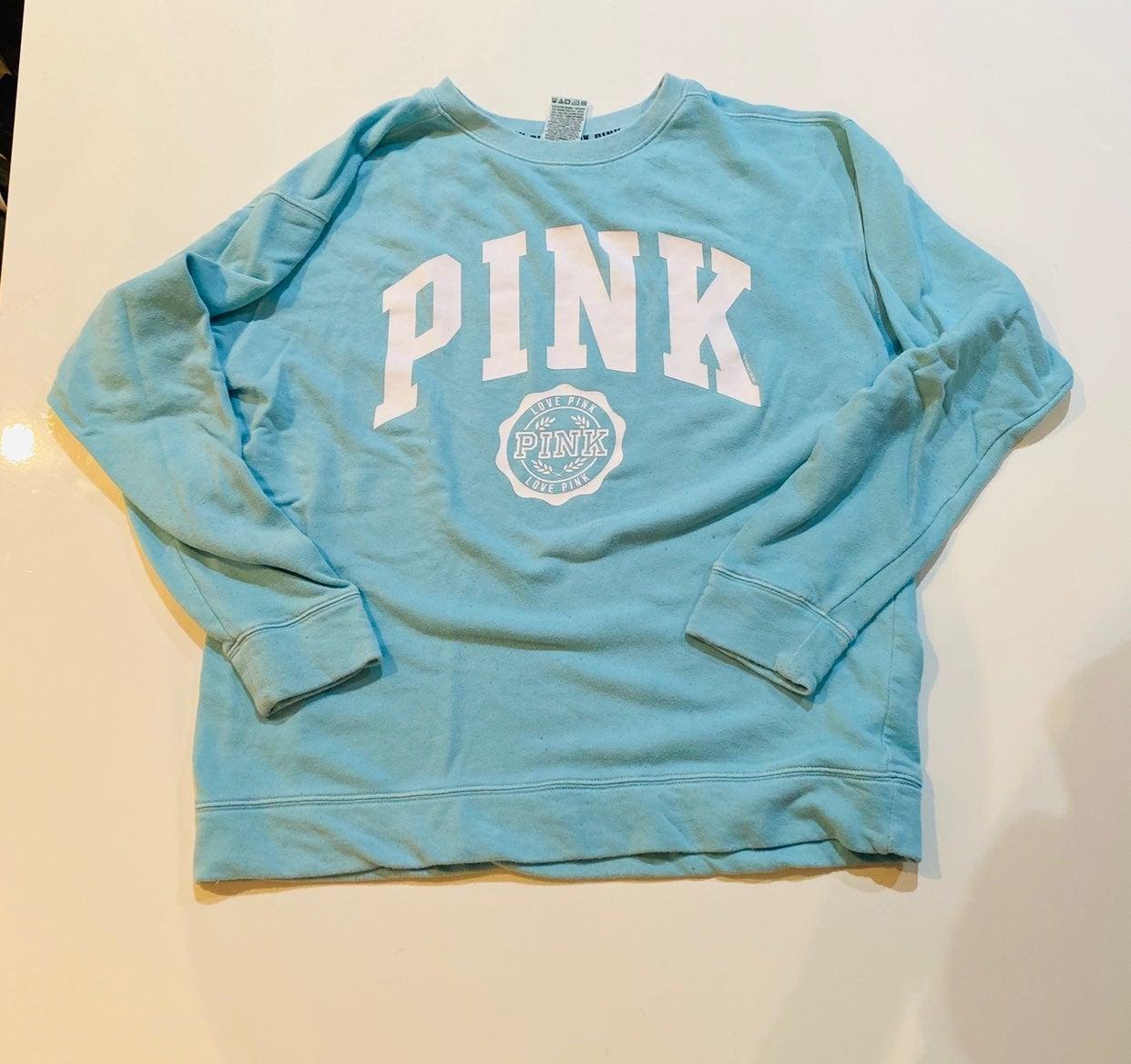 PINK Crewneck Sweatshirt Light Weight