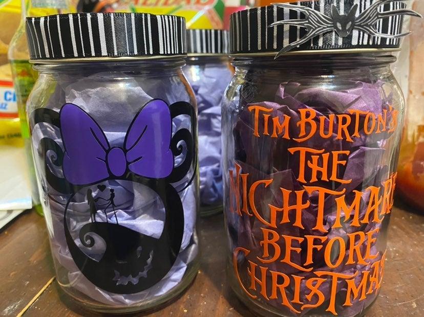 Nightmare Before Christmas jar