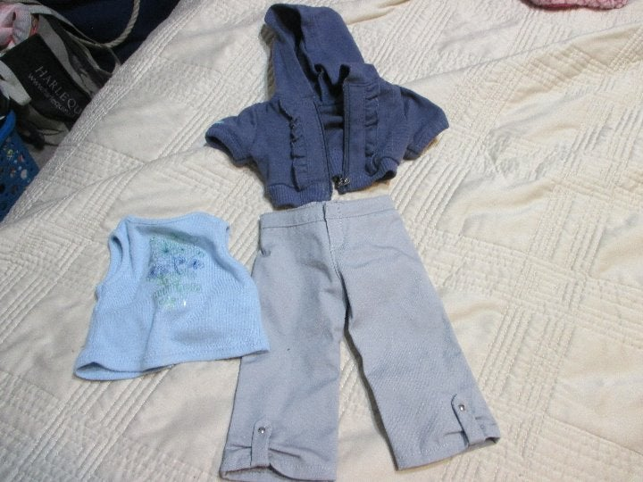 American Girl Doll Clothes Shirt Hoodie