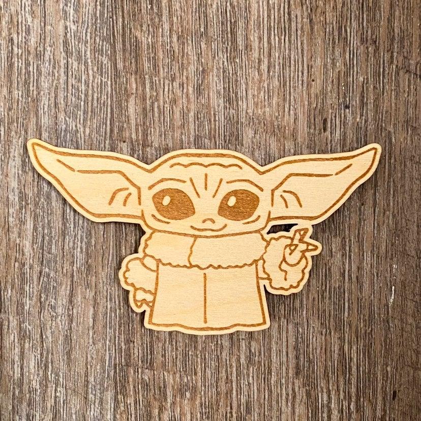 Baby Yoda Magnet
