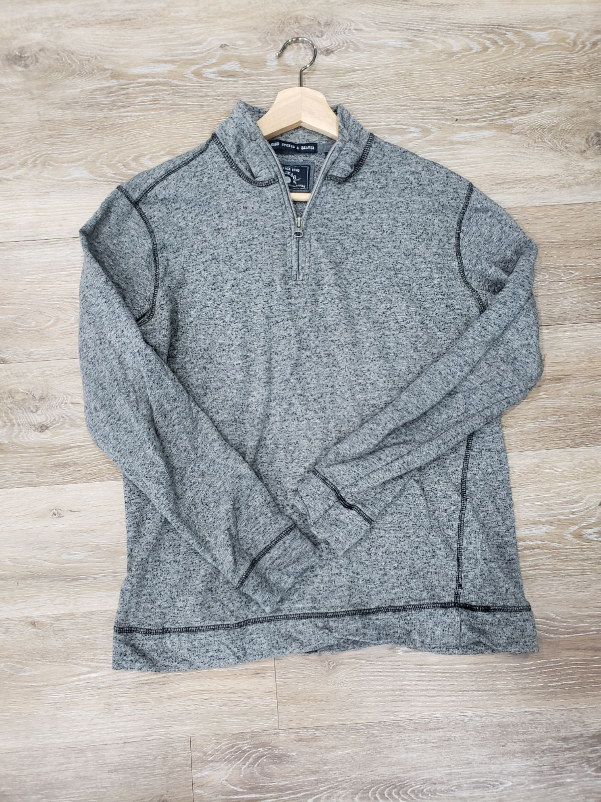Washed, Stoned, & Beaten pullover M shir