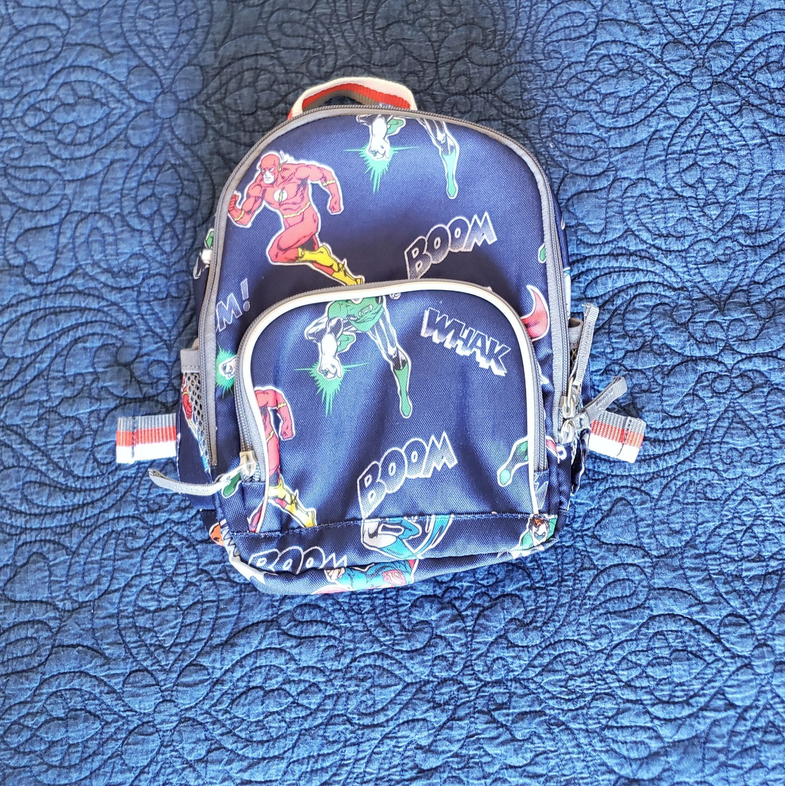 Pottery Barn DC Marvel Superhero backpac
