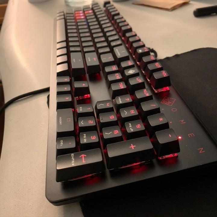 Reserved HP Omen Mechanical Keyboard
