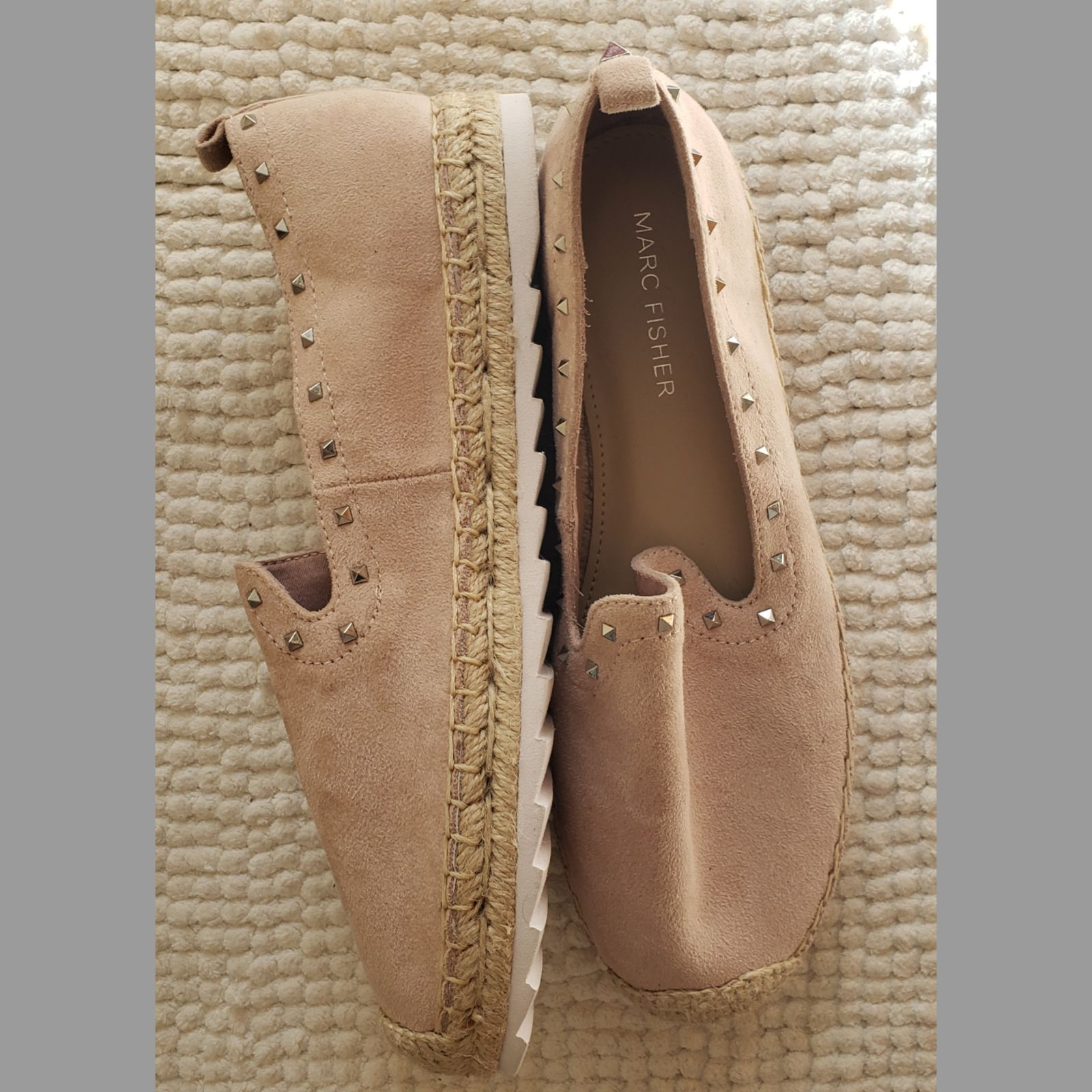 NWOT Marc jacobs pink studded shoes 7.5