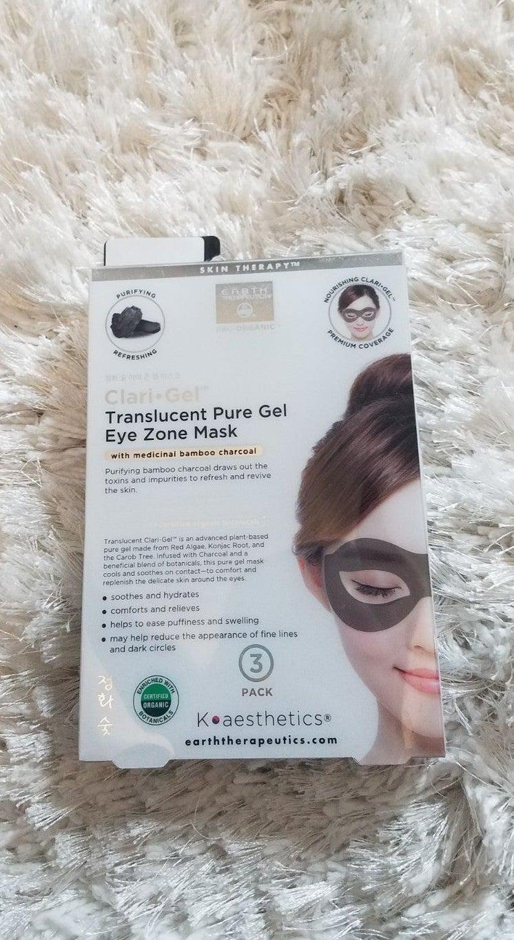 Earth therapeutics charcoal eye mask set