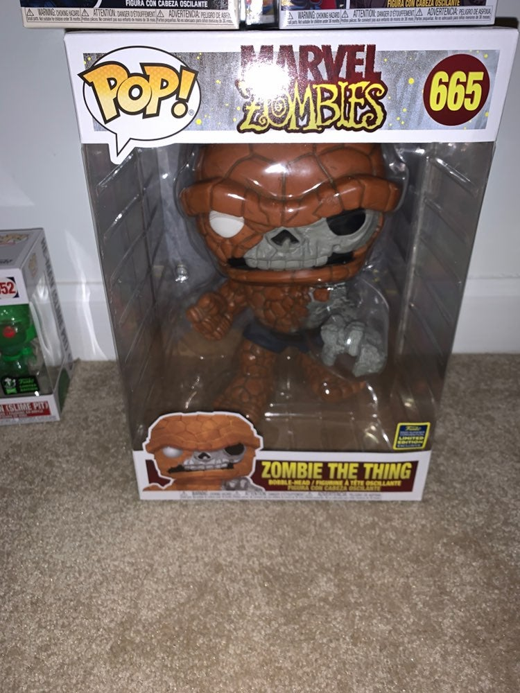 Funko 10 iinch Marvel's Thing (Zombie)