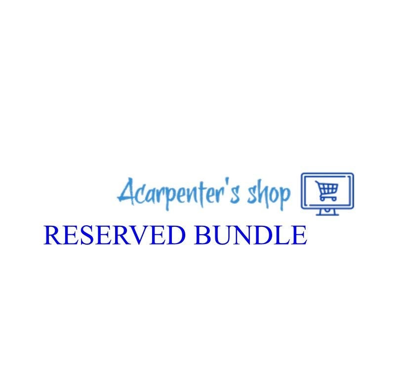 Reserved Bundle for lauraandrea