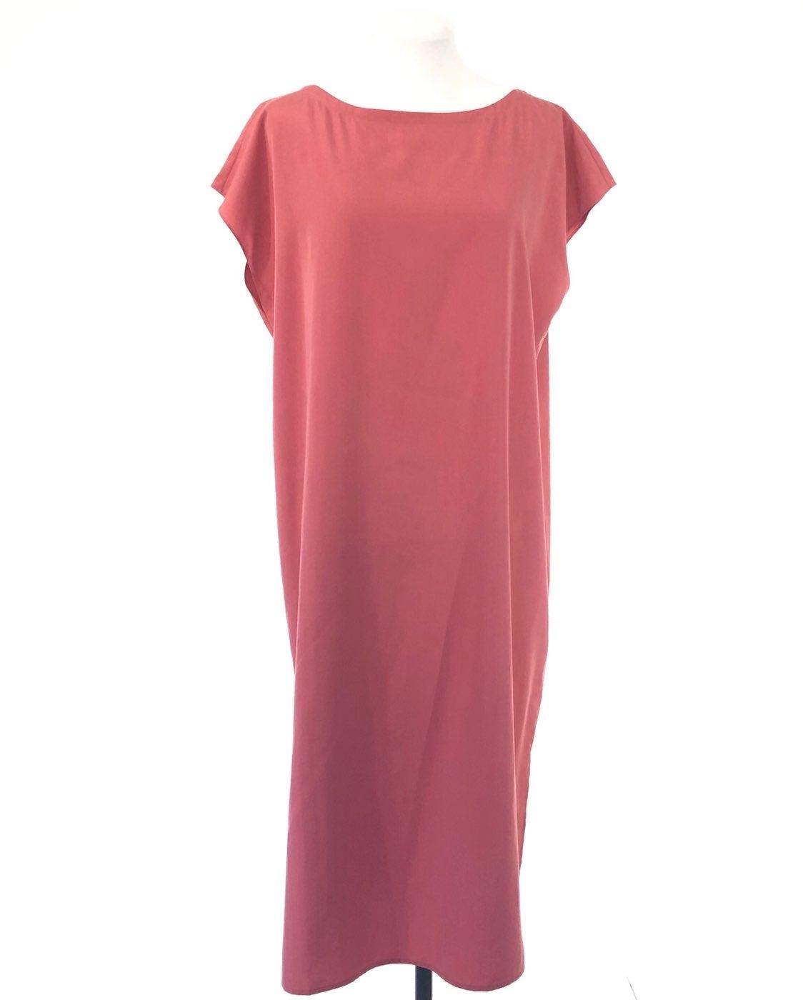 Eileen Fisher Sleeveless Midi Dress Size