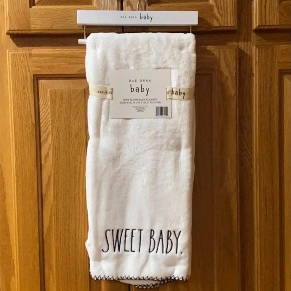 Rae Dunn baby blanket