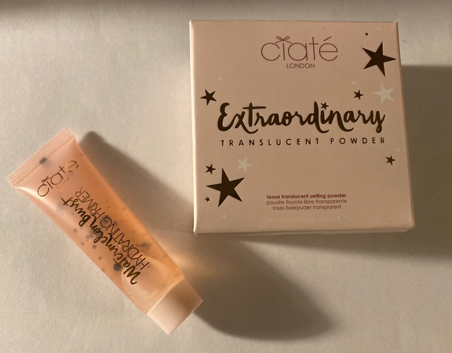 Ciate Primer and Translucent powder