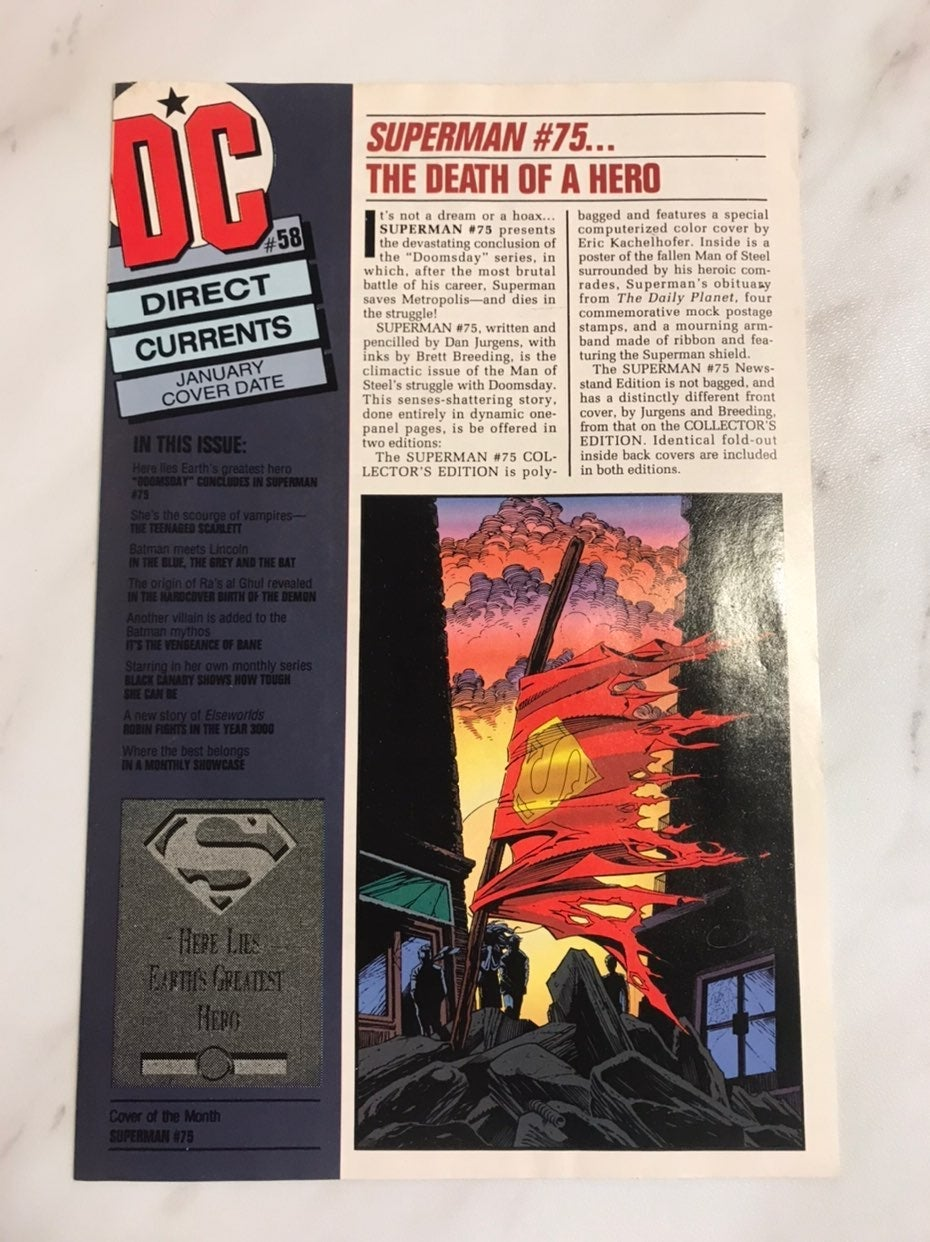 DC direct current comic 58