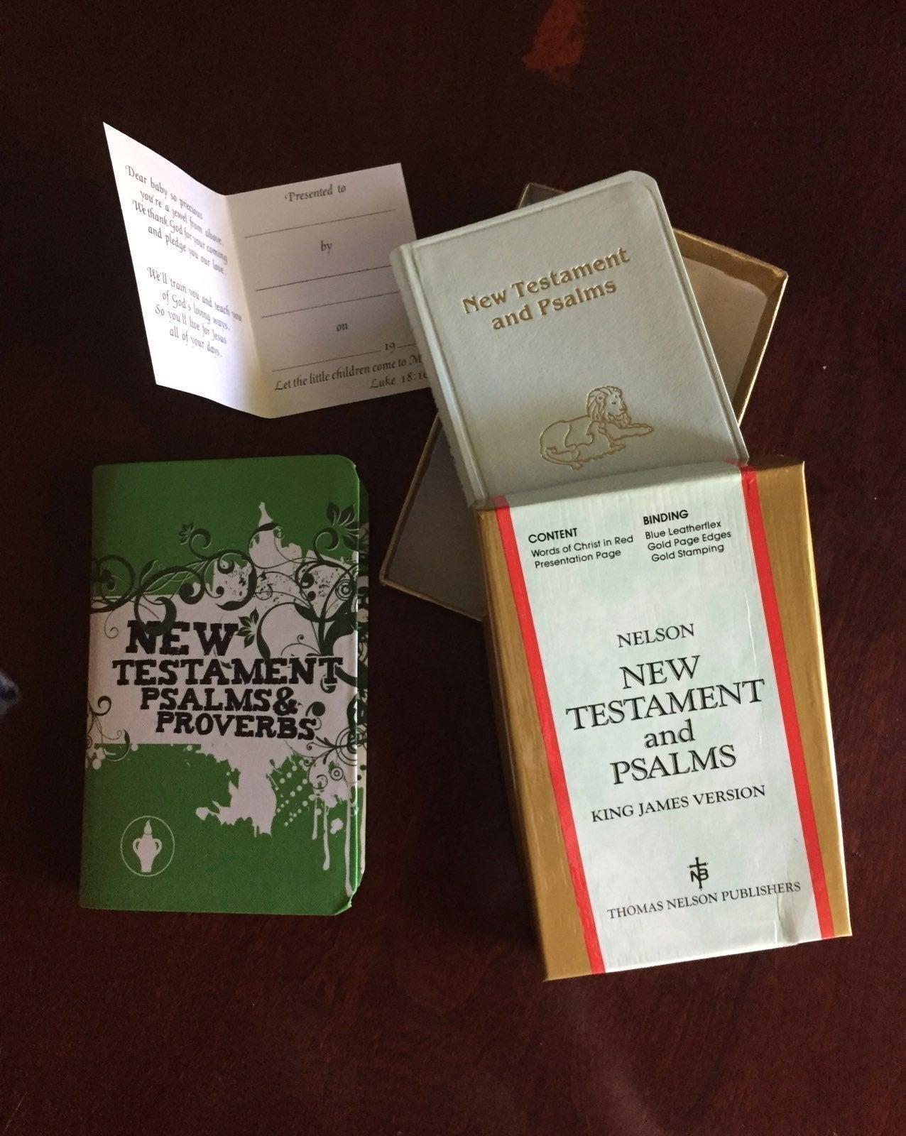 Baby's New Testament Bibles