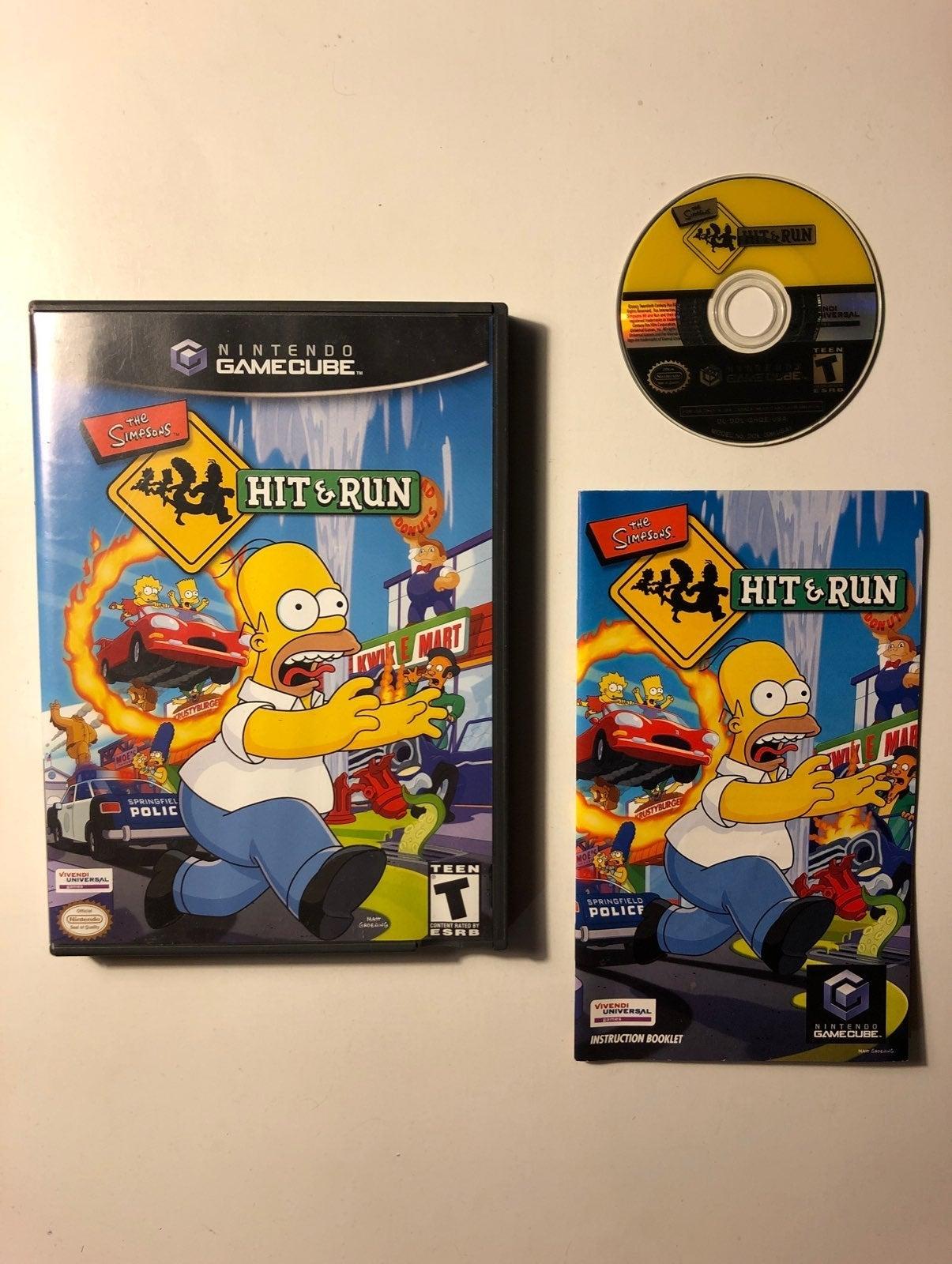 The Simpsons Hit & Run Gamecube CIB