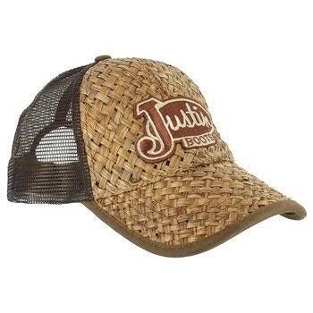 Justin Boots Snapback Hat EUC