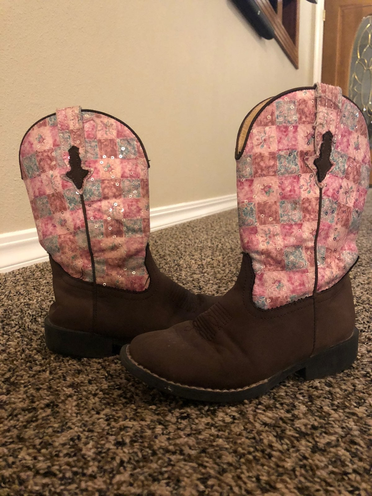 Girls size 13 Roper boots