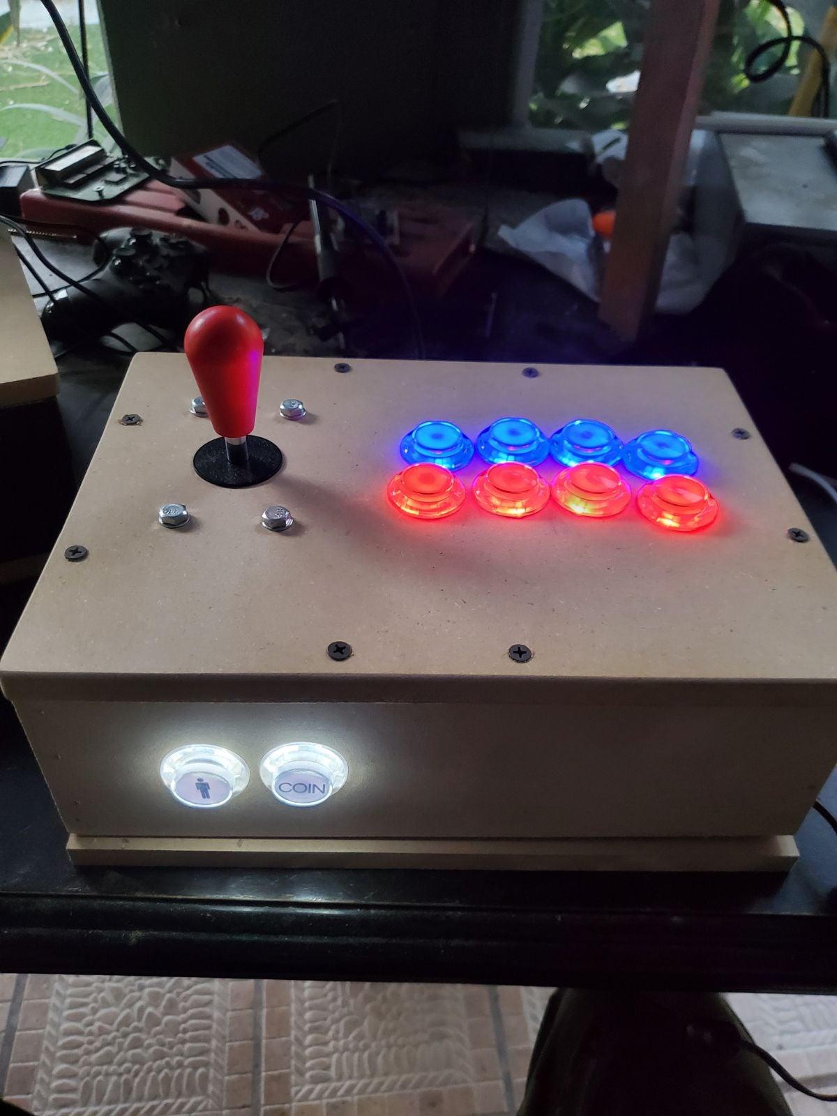Custom Arcade Fight sticks (1 Player)