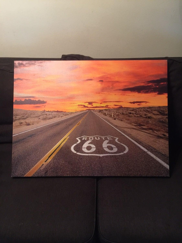 Route 66 Canvas