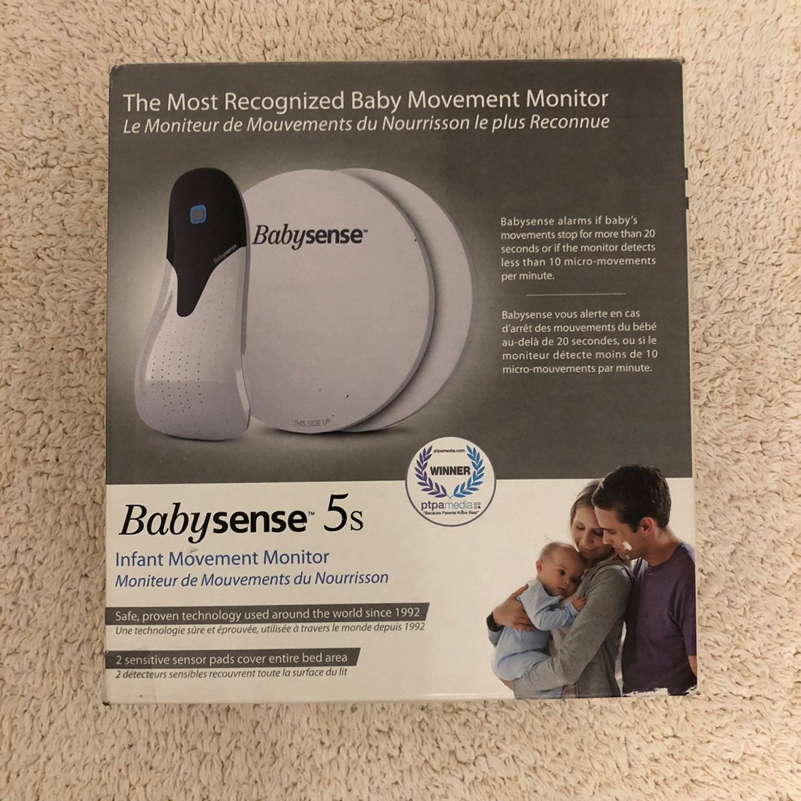 Babysense 5s infant movement monitor