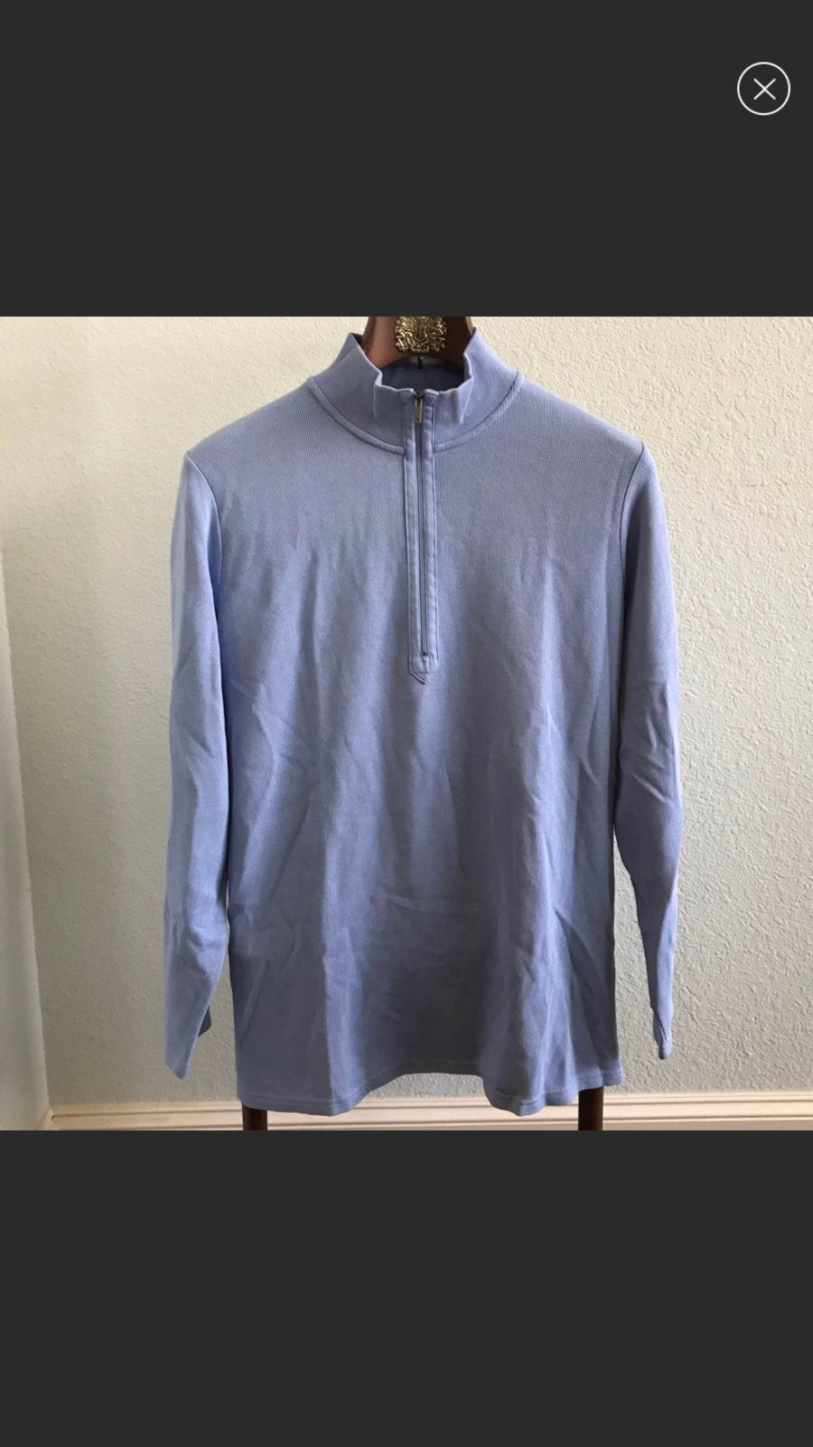 Eddie Bauer Lightweight Ridged 1/2 Zip P