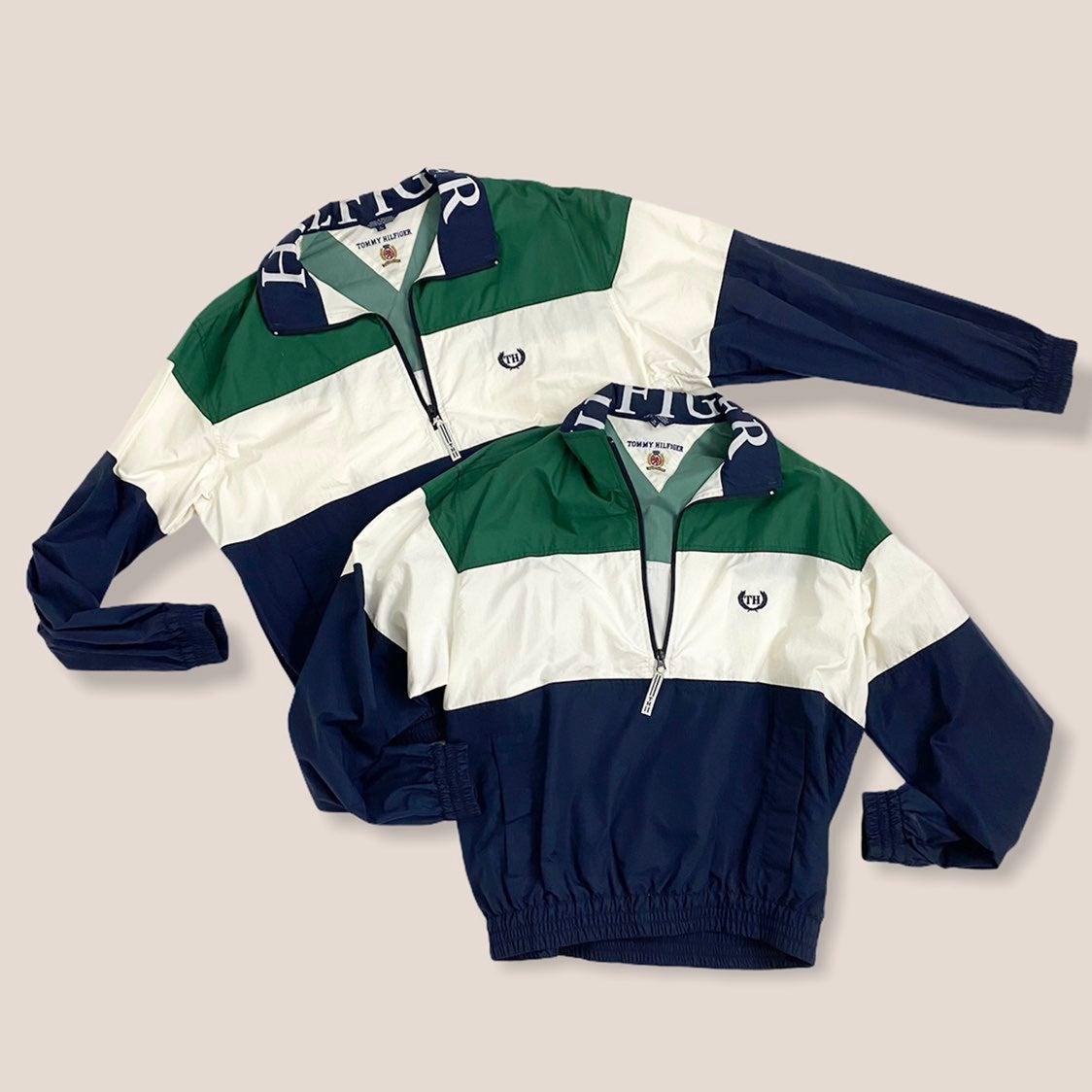 Vintage Tommy Hilfiger Spell Out Jacket