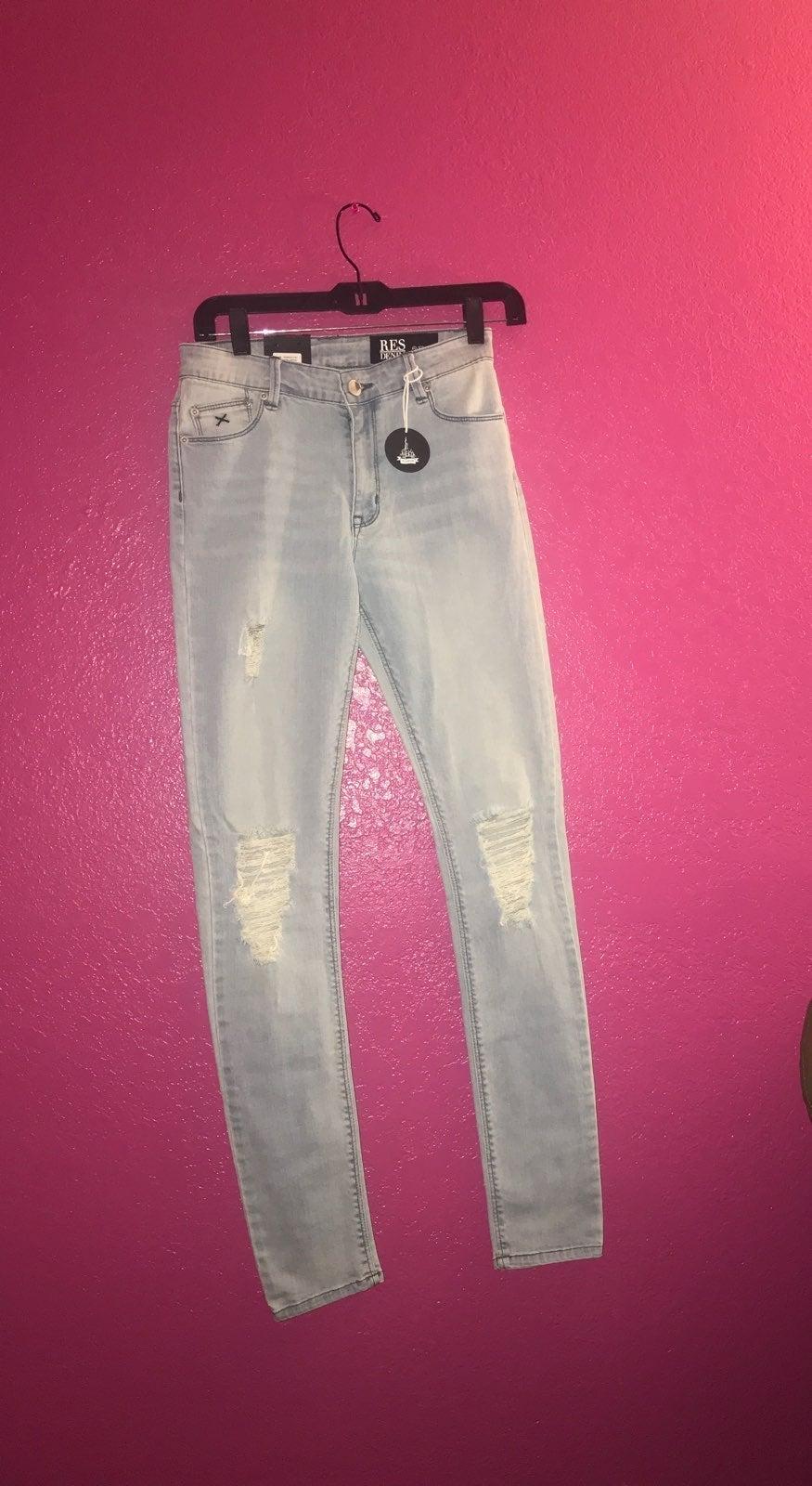 NWT RES Denim Skinny Jeans -27