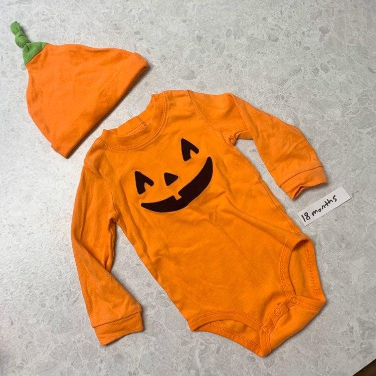 Halloween pumpkin outfit costume