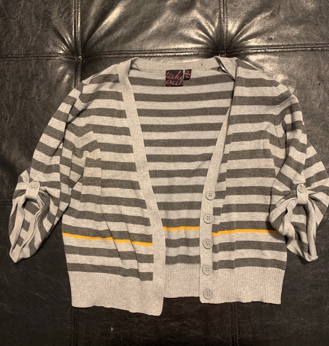 Crop Cardigan Quarter Sleeve